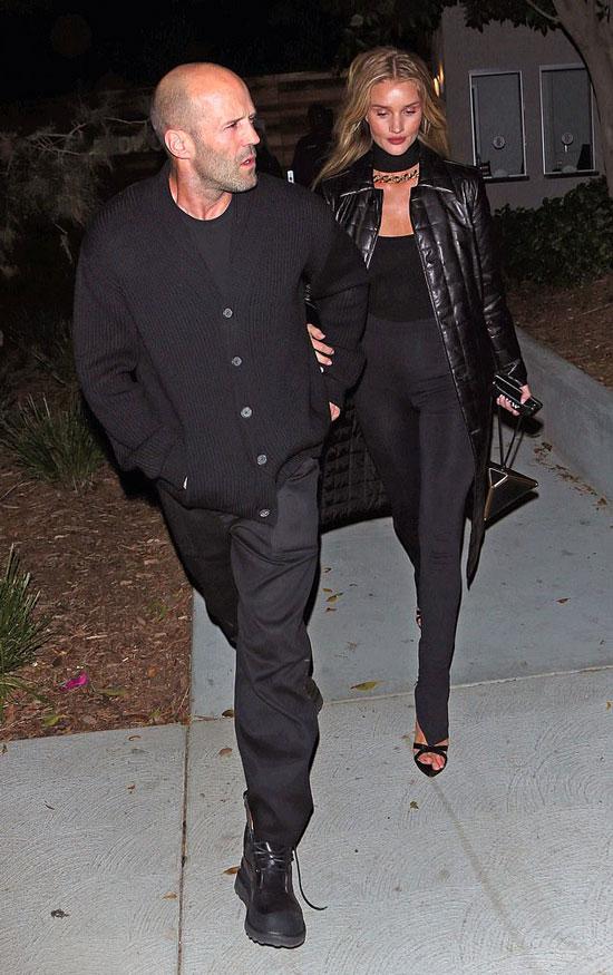 Джейсон и Роузи в черном