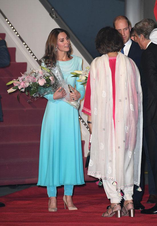 Кейт Миддлтон прибыла в Пакистан с королевским визитом