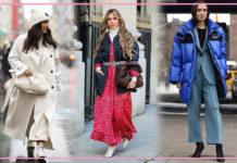 С этими зимними образами вы выглядите стильно и не замерзнете!