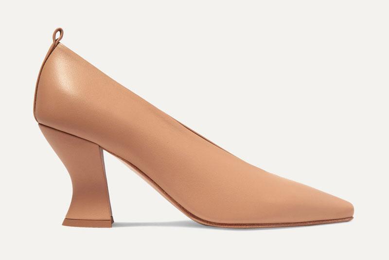 Туфли Bottega Veneta песочного цвета