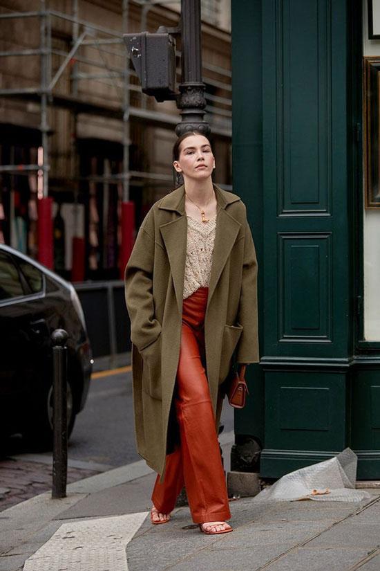 Модные женские пальто на весну