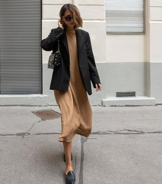 Как стильно носить черный пиджак