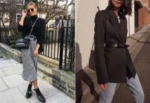 С чем носить черный пиджак в 2020 году: 17 актуальных образов на все случаи жизни