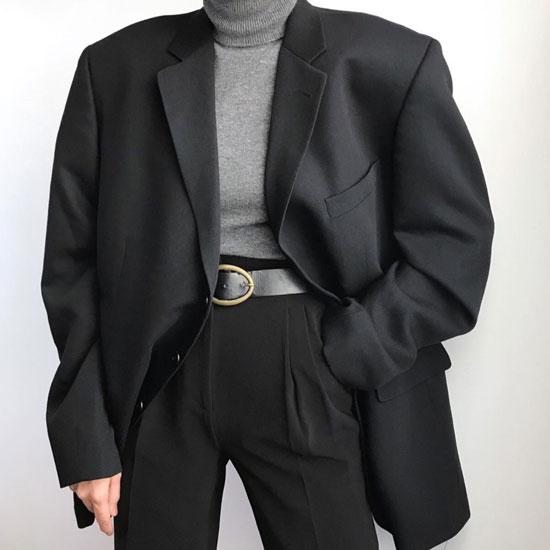 Образы с черным пиджаком для женщин