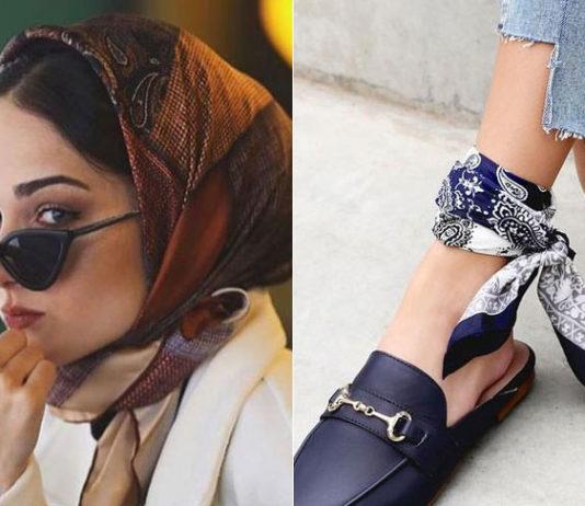 Как модно носить платок в 2020 году: стильные идеи для создания трендовых образов