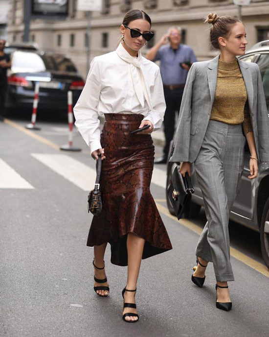 Модные юбки на весну 2020