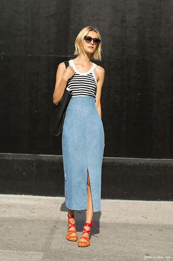 Стильные юбки весной 2020