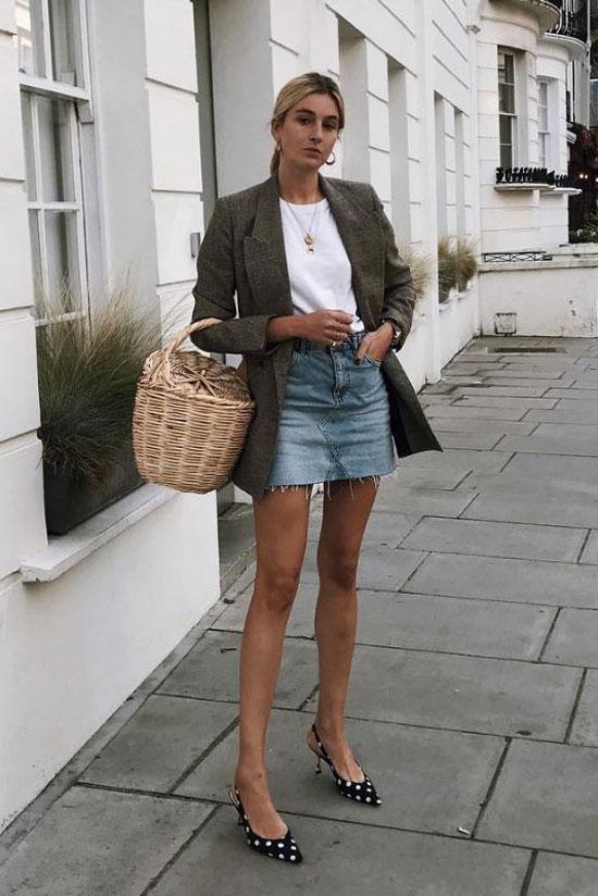 Стильные юбки на весну 2020