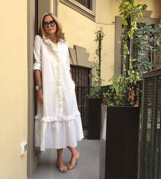 Модные летние платья для женщин 50 лет