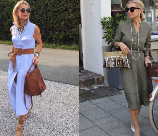 Летние платья для женщин 50 лет: стильные и актуальные модели для модных образов