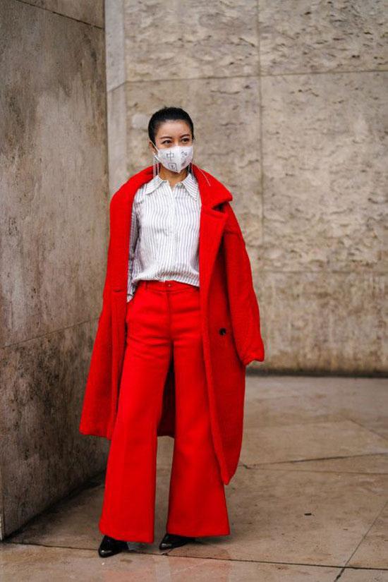 Медицинские маски в модных образах 2020