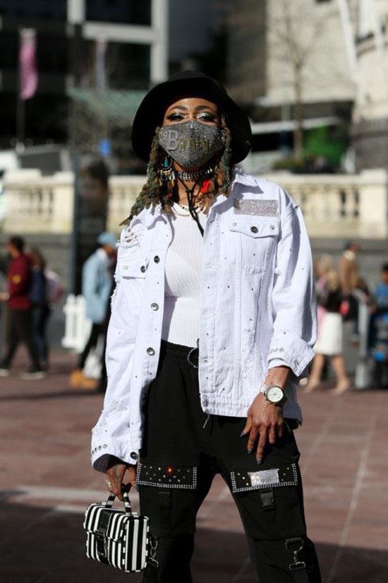 Модные защитные маски 2020