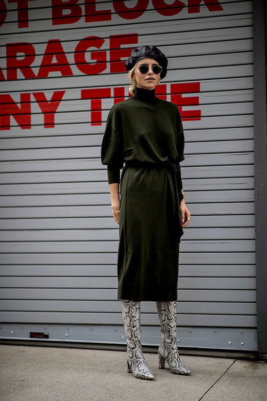 Стильные и модные женские платья 2020