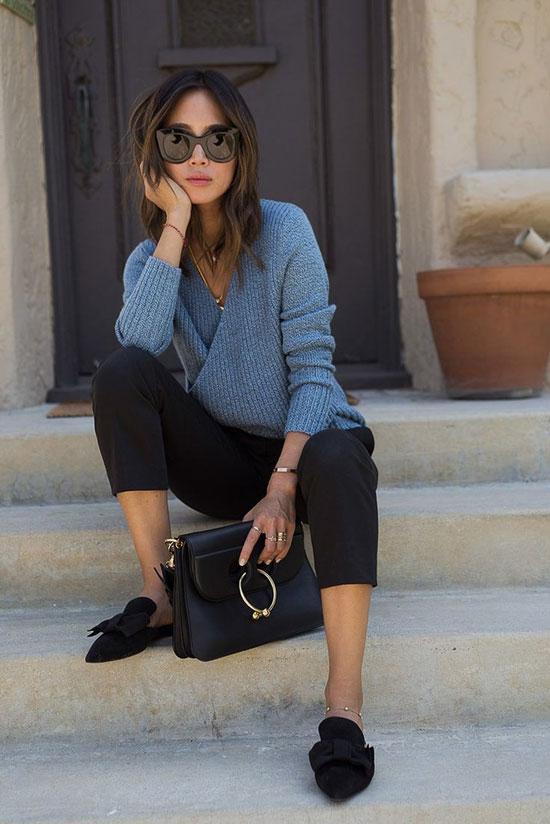 Модные женские туфли без каблука 2020
