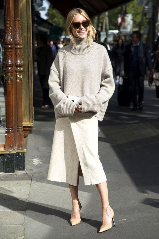 С чем носить модные женские туфли