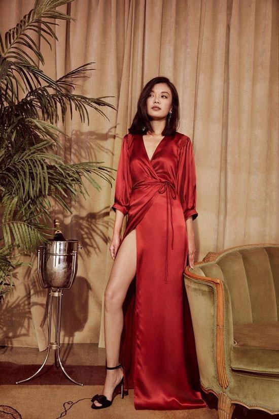 Модные цвета вечерних платьев