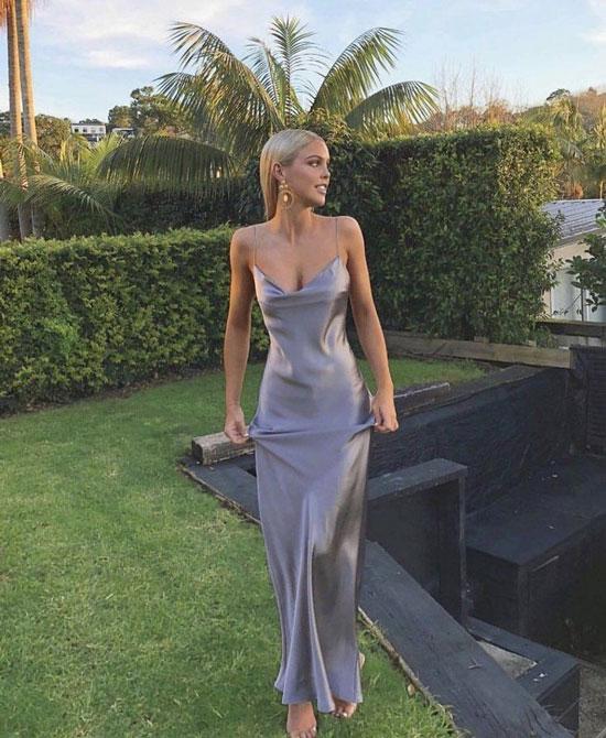 Какого цвета должно быть женское вечернее платье 2020