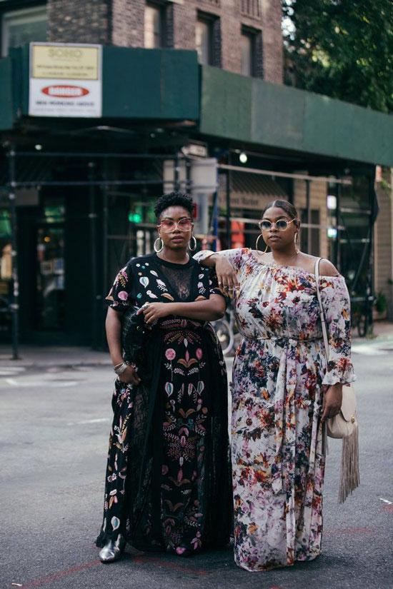 Летние платья в пол для полных женщин