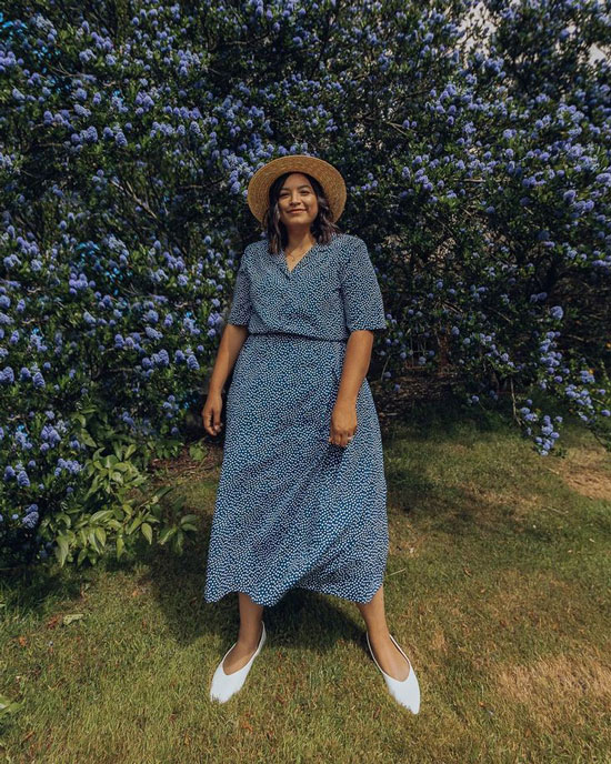 Простые летние платья для полных женщин