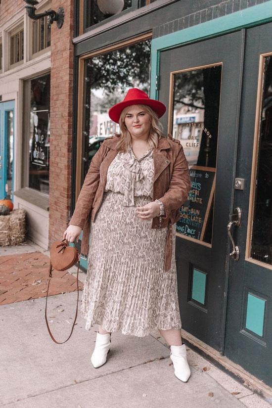 Модные фасоны платьев для полных женщин 2020