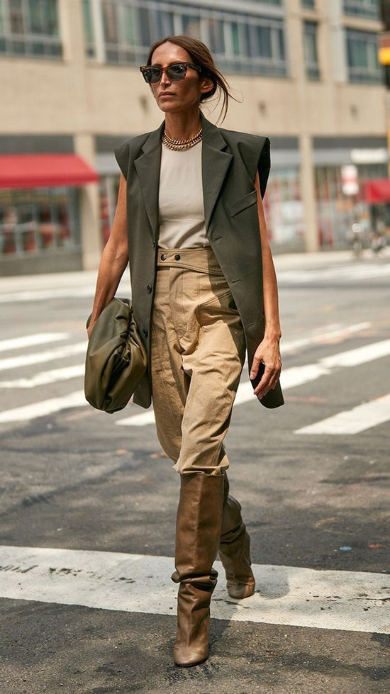 Стильные и модные женские образы 2020