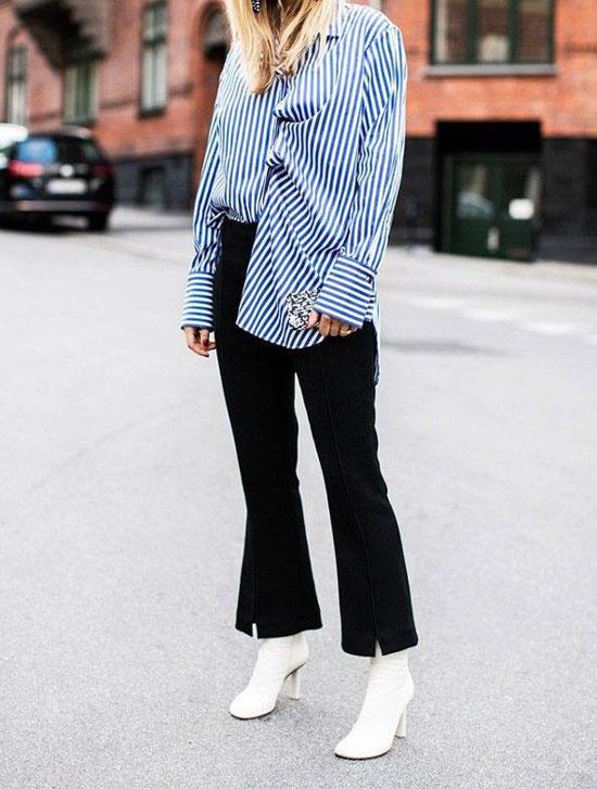 Блузки для черных брюк
