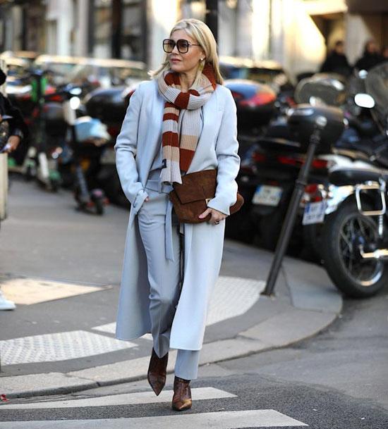 Базовый гардероб для 50-летней женщины на весну
