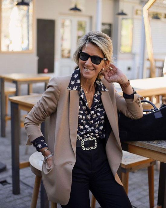 Что носить женщинам 50 лет весной 2020
