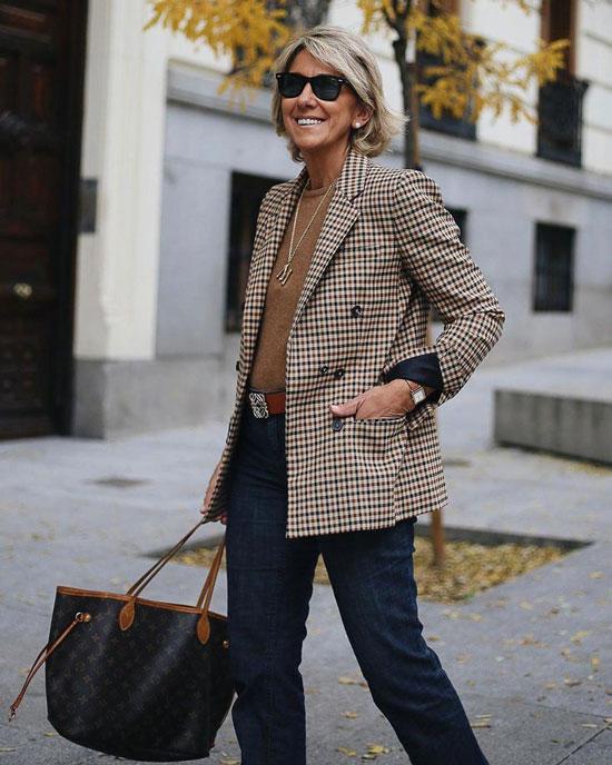 Базовый гардероб для женщины 50 лет на весну 2020