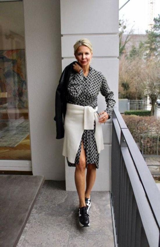 Модные образы для 50-летних женщин