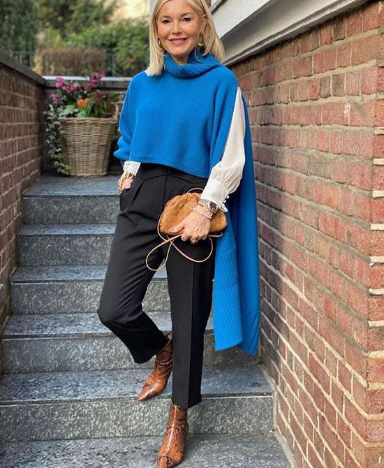 Базовый гардероб для женщины 50 лет на весну