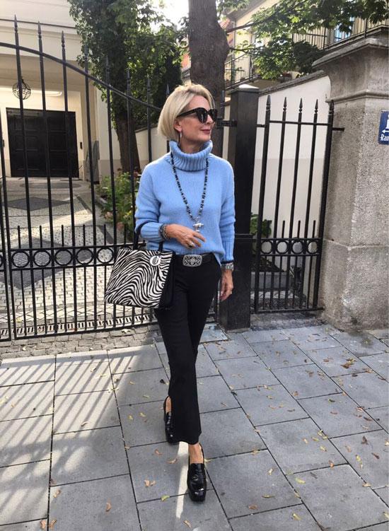 Как выглядеть стильно женщине 50 лет