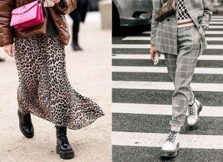 Грубые женские ботинки: актуальные модели, с чем их носить и фото модных образов
