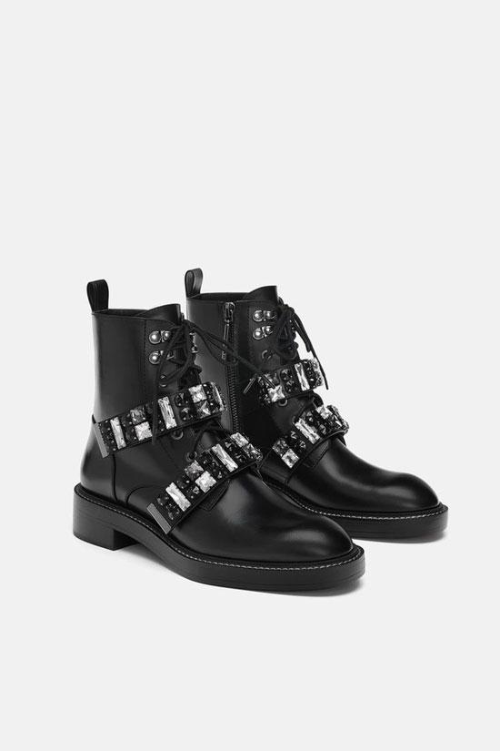 Грубые кожаные ботинки 2020