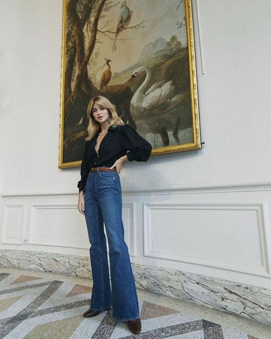 Модные джинсы для высоких девушек