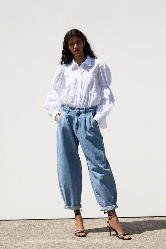 Модные джинсы на лето для высоких