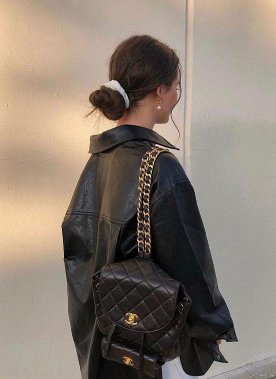 Образы с модными рюкзаками 2020