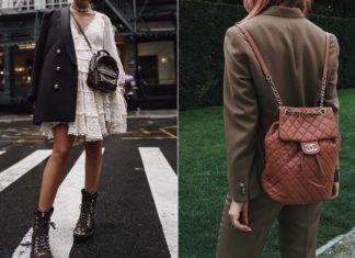 Чем заменить сумку: модные рюкзаки 2020, какой выбрать плюс примеры стильных образов