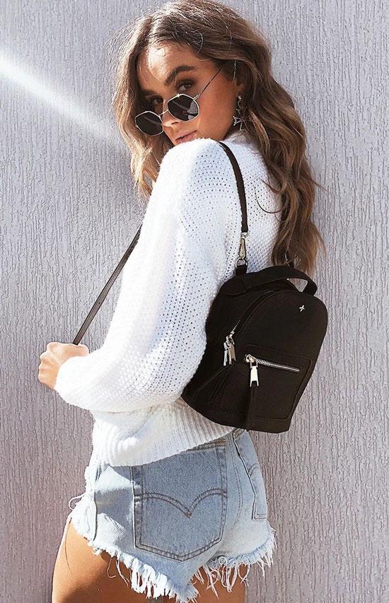 Модные женские рюкзаки на лето 2020
