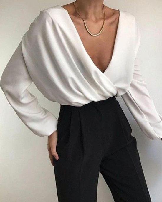 Стильные блузы для женщин 2020