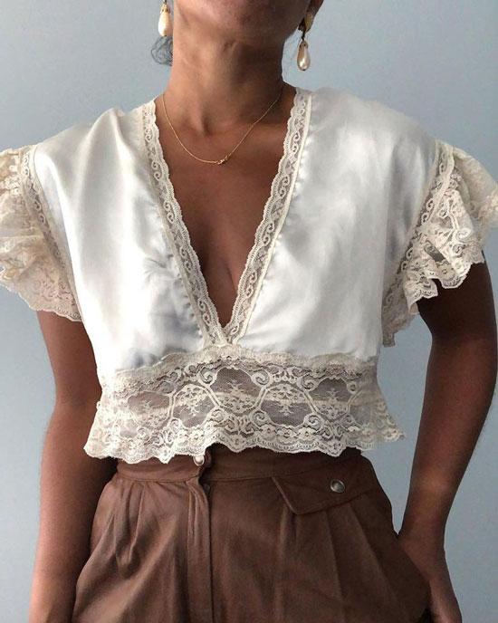 Необычные блузы для женщин