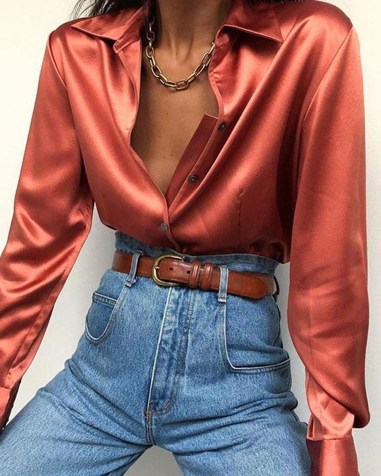 Нарядные блузки для женщин 2020