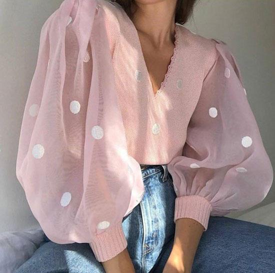 Модные блузки для женщин 2020