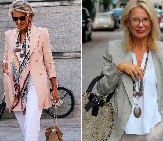 Какие жакеты носить этим летом если вам за 50: 10 образов подсмотренных у блогеров