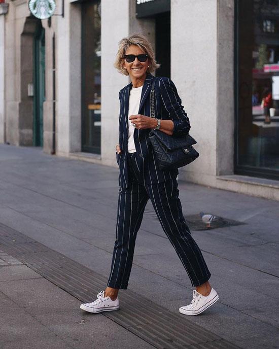 С чем носить жакет женщине 50 лет летом 2020