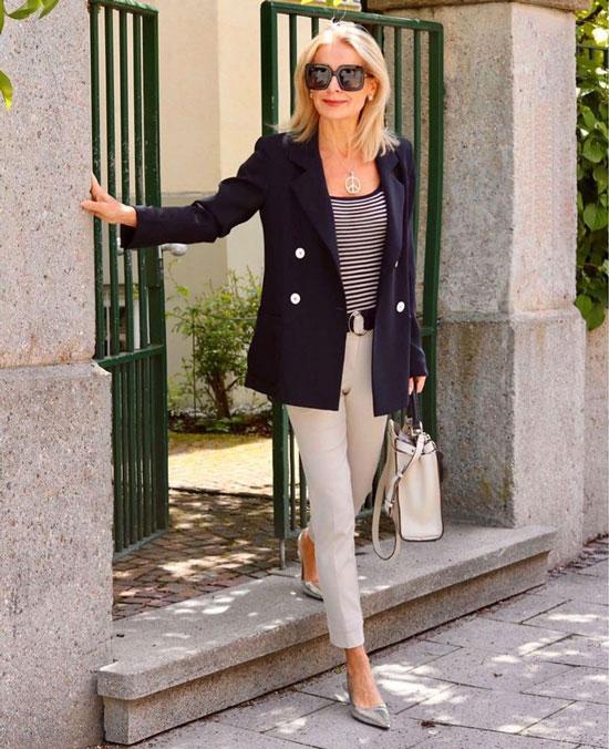 Модные жакеты на лето 2020 для дам в возрасте