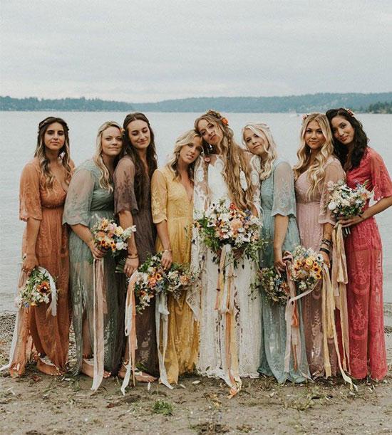 Модная свадьба в стиле бохо