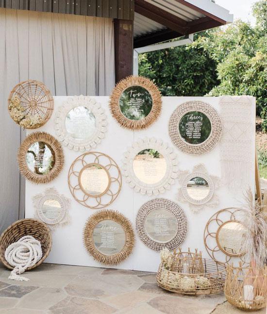 Декорации свадьбы в стиле бохо