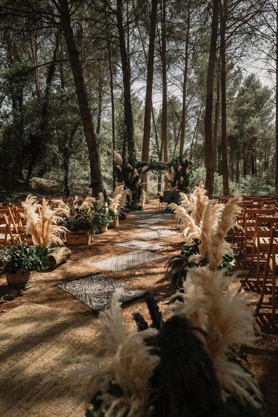 Украшения на свадьбу в стиле бохо