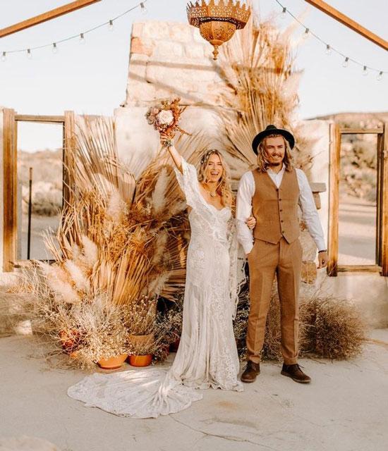 Свадьба в стиле бохо 2020